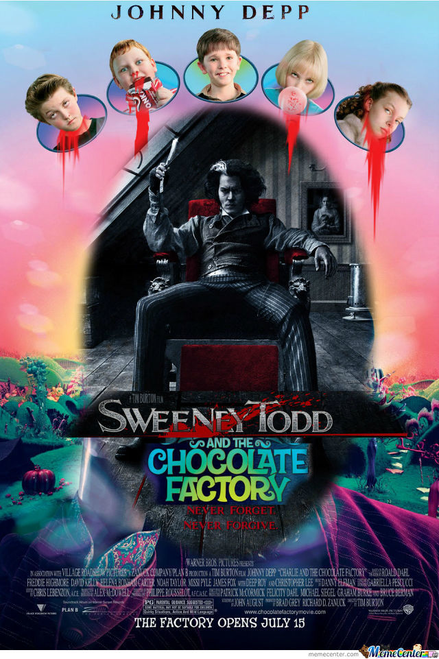Sweeny Todd And The Chocolate Factory By Stef4234 Meme Center