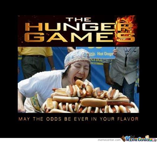 Person Is The Hunger Games About Food I Ve Met Bread Smarter Than