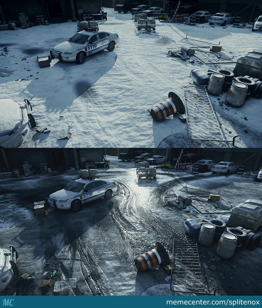 Tom Clancy S The Division New Snow Engine Amazing Graphics By