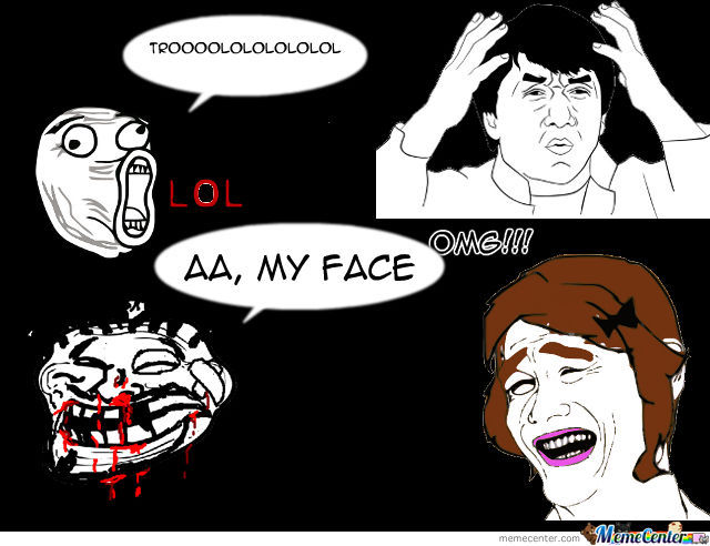 Trollface And Lol By Robin12345 Meme Center