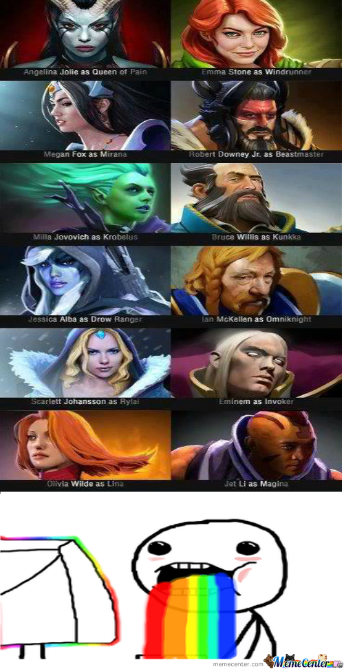 DOTA Heroes Irl By BuDx Meme Center