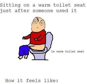 Warm Toilet Seat By Awesomeone Meme Center