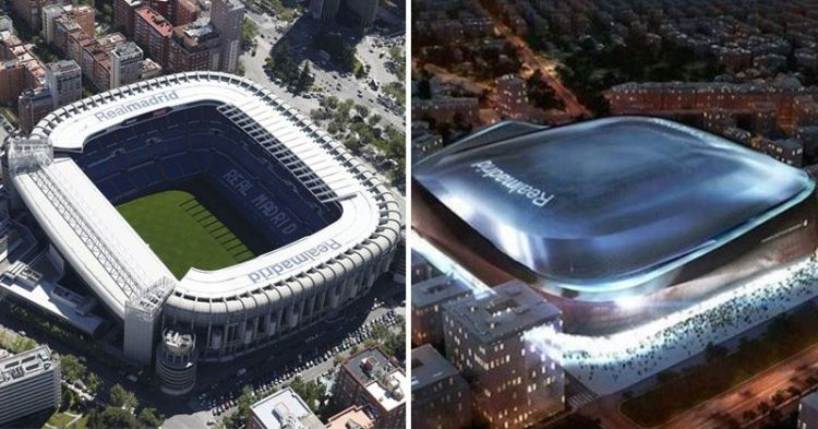 Real Madrid To Spend Rs 4,000 Crores On Revamping Stadium ...