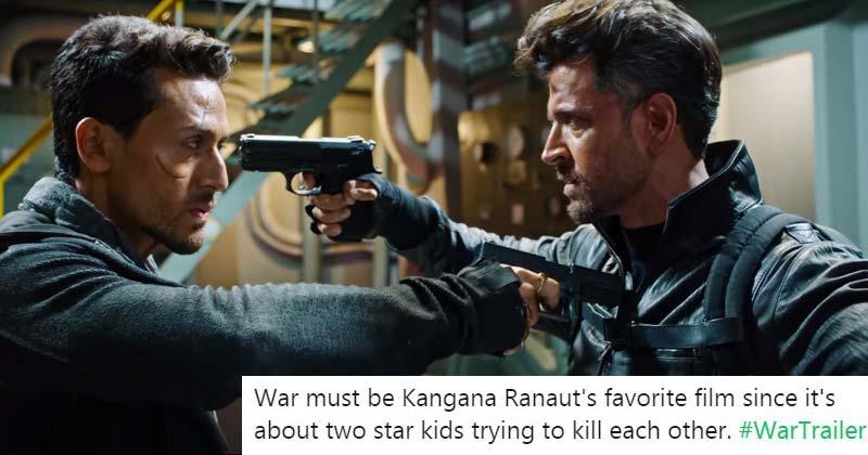 War Trailer Is Like A Meme Template People Are Calling It Gareebon