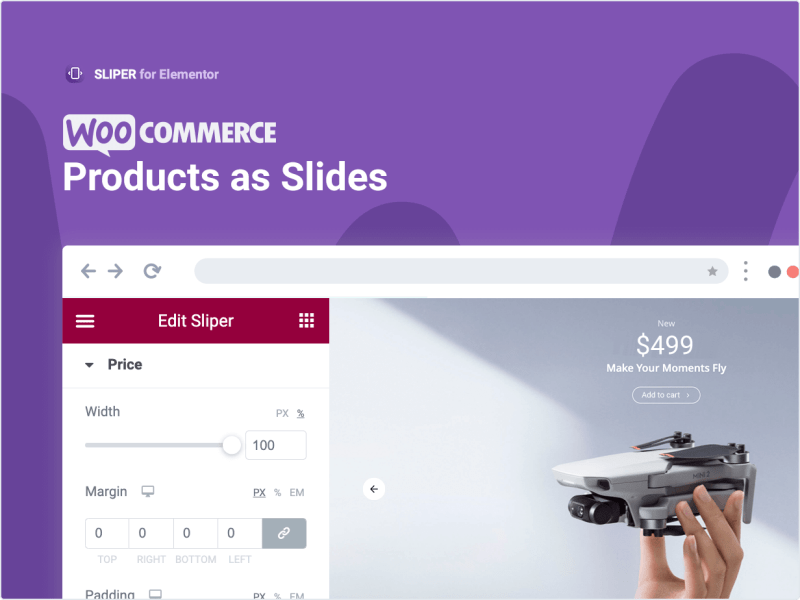 WooCommerce Products as Slides