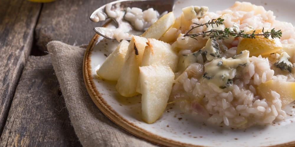 risotto au gorgonzola