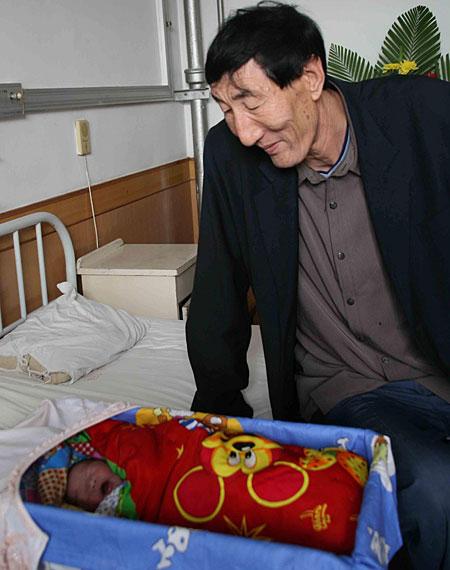 Bao Xishun and son