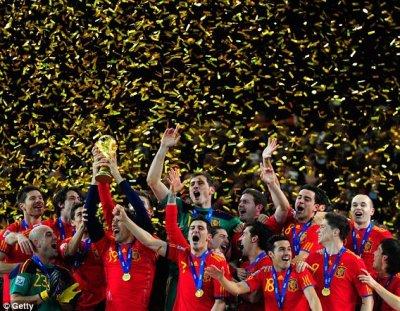 Juara Piala Dunia 2010