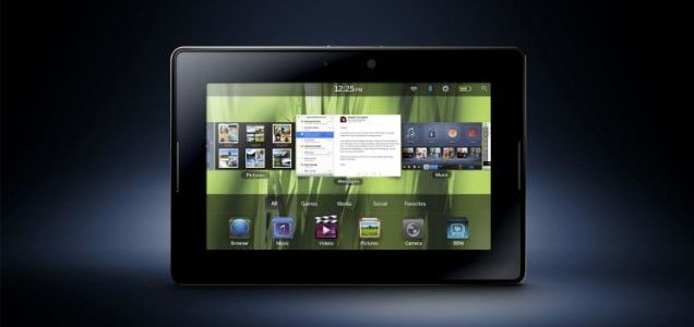 Challenger: The BlackBerry PlayBook is set to take on Apple's iPad in 2011