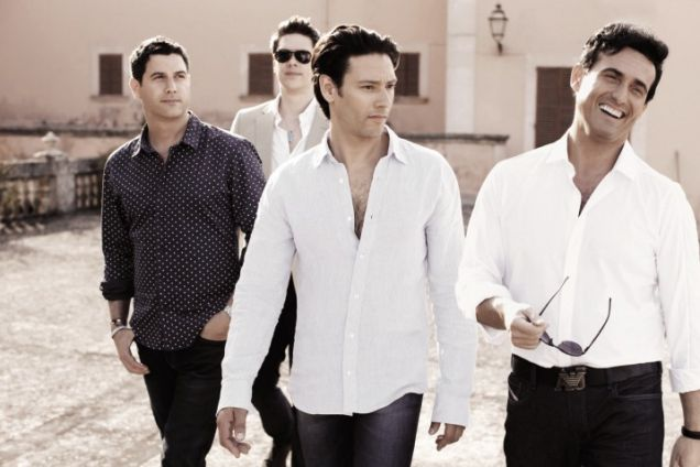 Operatic pop quartet Il Divo