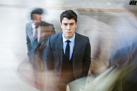 Toby Kebbell plays Liam in the third and final episode of Black Mirror, 'In Memoriam'.