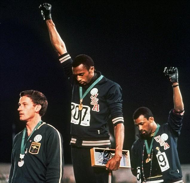 London 2012 Olympics John Carlos