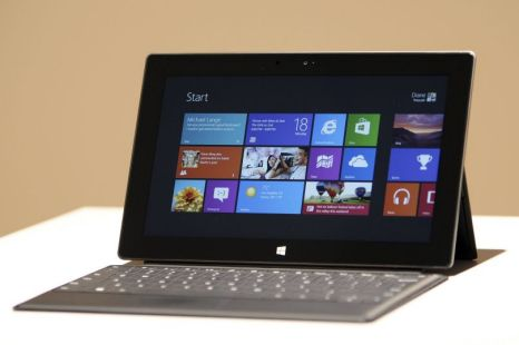 Microsoft, Surface tablet, Windows 8