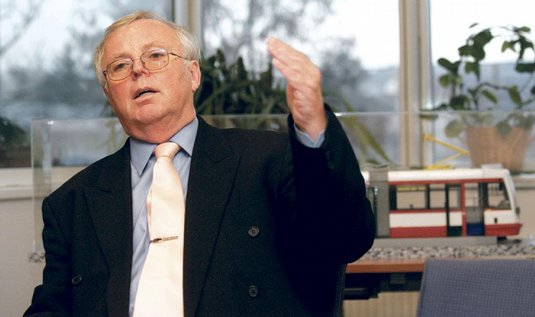 Inekon CEO Josef Husek