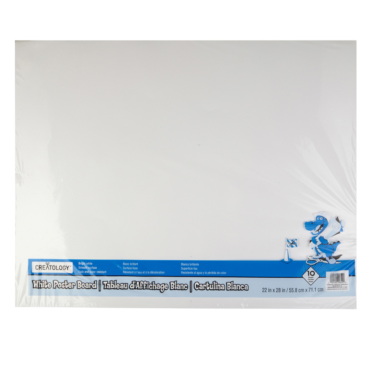Creatology White Poster Board