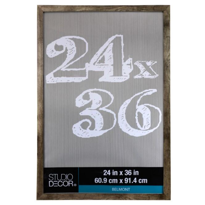 Styleline Poster Frame Black 18x24 By Studio Decor