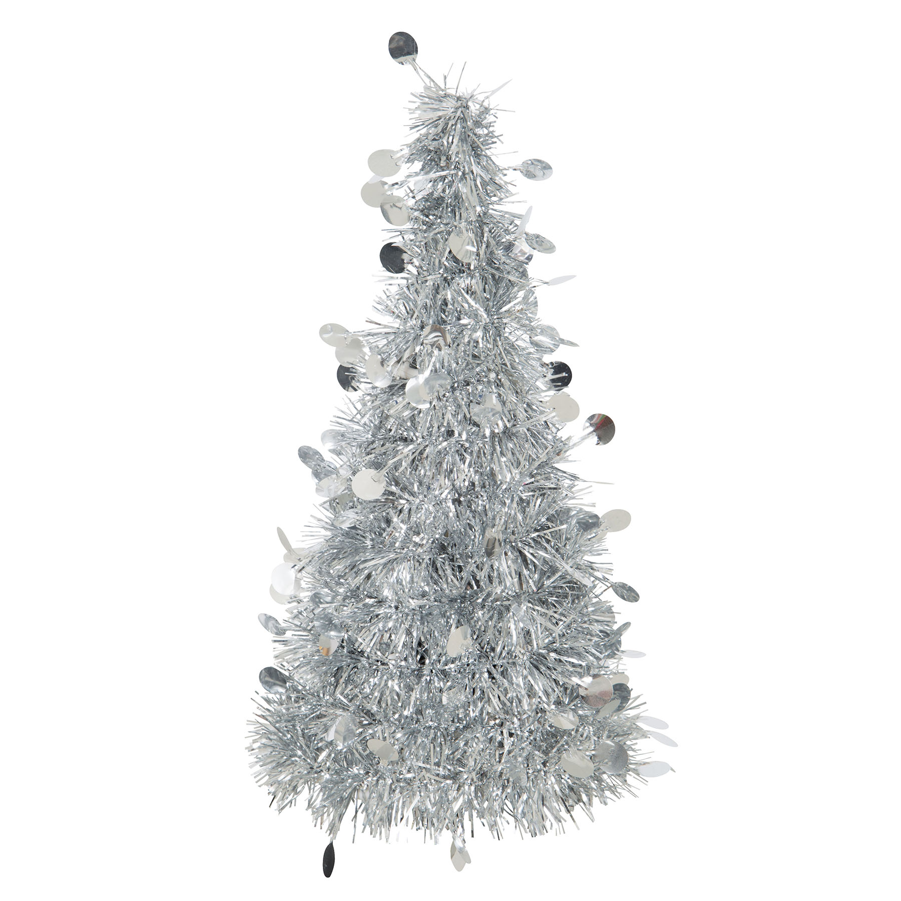 Silver Christmas Tree Table Decoration Christmas Party