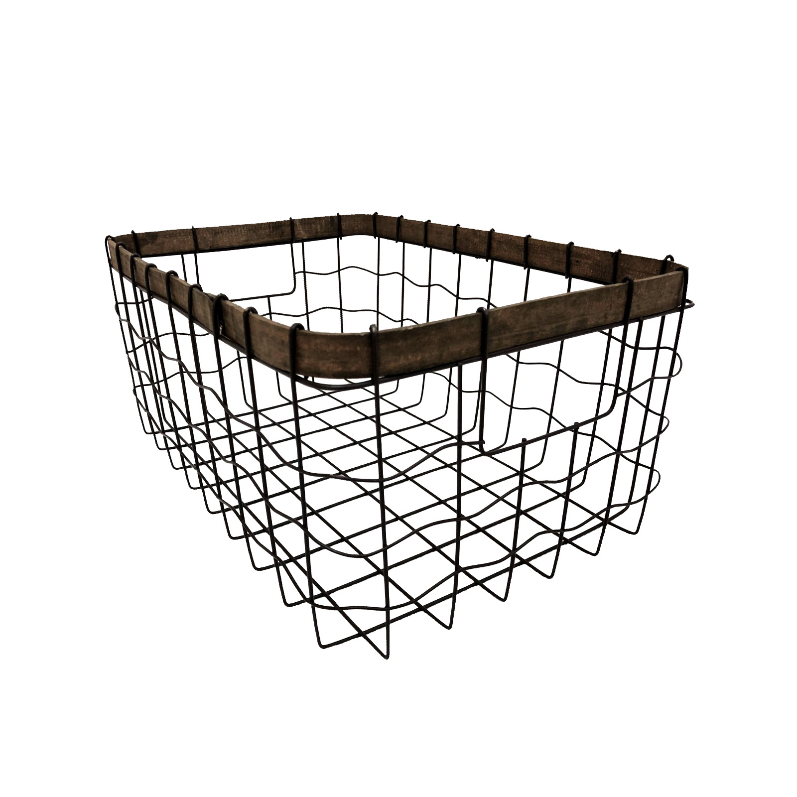 Shop for the large metal wire basket by ashland® at michaels