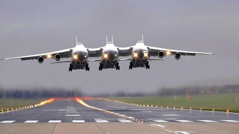 Los aviones gigantes más absurdos y falsos del mundo