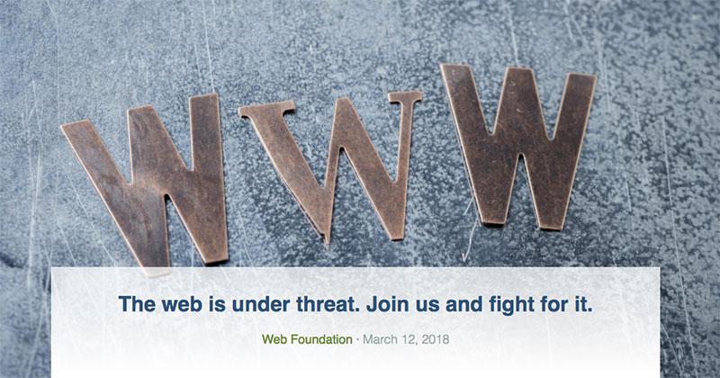 WWW under threat