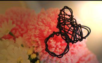 鋁線手作》邊看韓劇邊隨便折的超簡單愛心戒指