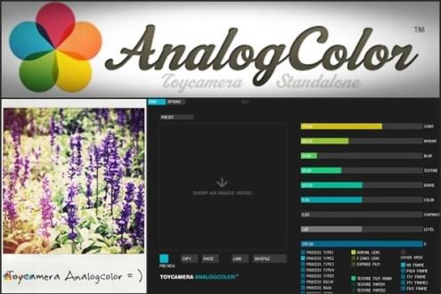 [免費軟體] LOMO拍立得特效軟體 -Toycamera Analogcolor-