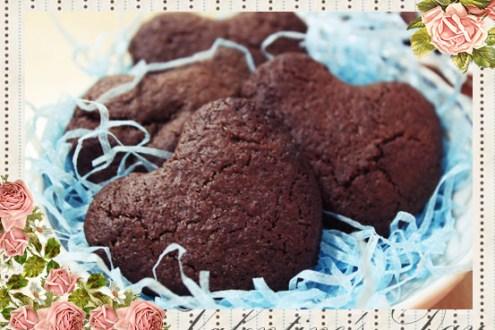 情人節食譜》小烤箱輕鬆駕馭,超簡單苦甜巧克力餅乾