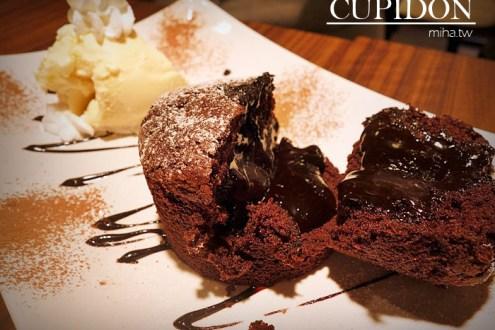 台北》信義區ATT 4 FUN下午茶:Cupidon Cafe,超美味熔岩巧克力布朗尼