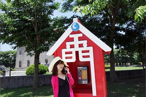 金門》擁有金門電話亭的熱門觀光景點:金門英雄館-莒光樓