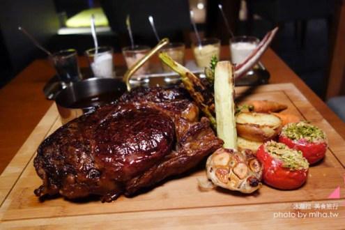 台北》巨無霸和牛戰斧牛排 慕軒GUSTOSO約會&朋友聚會精緻餐廳好選擇