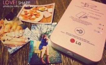 3C》玩拍立得不怕失敗:口袋印相機LG Pocket photo 3.0與2.0開箱比較