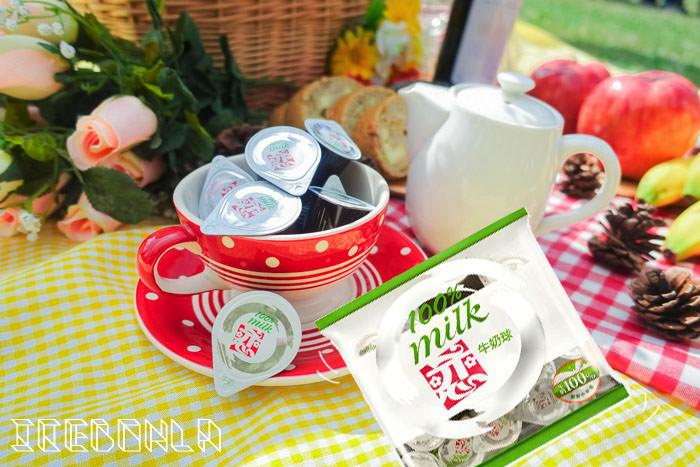 華山野餐,戀奶球,台北野餐,台北華山,華山大草原,質人鮮奶,janet