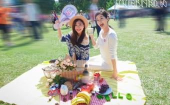 台北》華山大草原野餐樂活節x戀牛奶球100%牛奶 便利小杯裝隨時帶著走
