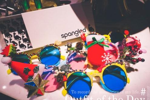 -義米花spangled太陽眼鏡繽紛手作趴 新買的紅色流蘇水桶包