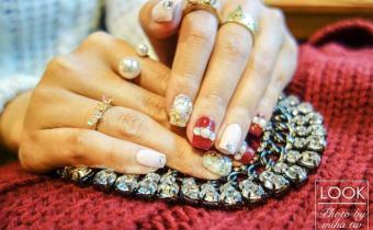 東區晶漾一月小記錄:換個充滿喜氣的「酒紅珠寶風凝膠指甲」迎接新年吧!