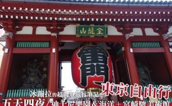 東京自由行規劃》東京五天四夜行程+最便宜wifi網卡 景點票卷購買 伴手禮攻略