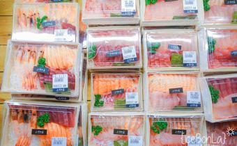 台北》像百貨公司的新鮮漁市場「上引水產」便宜又好吃搭公車就會到
