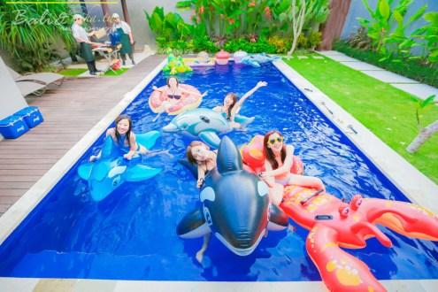 峇里島》房間就有大泳池的Seven Angel Villa 池畔BBQ開趴超嗨 家族姊妹旅遊首選