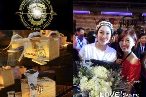 泰國》CASIO G-Shock曼谷發表會 第一次在曼谷跑趴好酷炫