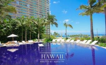 夏威夷》The Modern Honolulu-純白時尚酒店 一開陽台就是夢幻海景