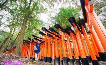 日本》京都伏見稻荷神社參拜注意事項 超級壯觀的千鳥居 穿和服逛更有味道