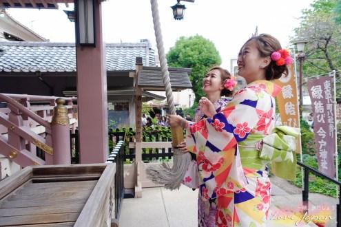 日本》東京和服推薦 #淺草愛和服 含編髮髮飾千元有找且會說中文