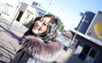 台北染髮只能找GENIC西華店Cherry!超級美人人愛的霧面藍綠挑染 史上動作最快設計師