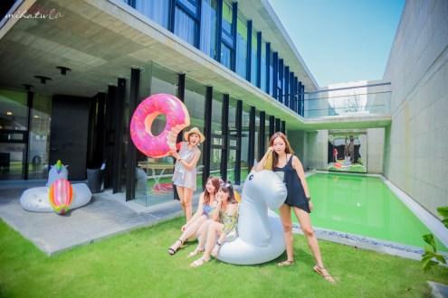 宜蘭》姊妹出遊最嗨包棟民宿推薦第一名:小國生活Neverland光之樹 有自己泳池玩到瘋