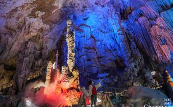 重慶》武隆芙蓉洞 走進哈利波特古靈閣 令人讚嘆的奇幻自然景觀