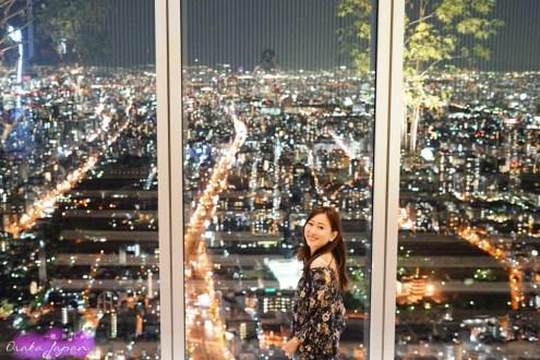 大阪夜景 阿倍野展望台HARUKAS 300 別忘記逛樓下近鐵百貨海闊天空本店