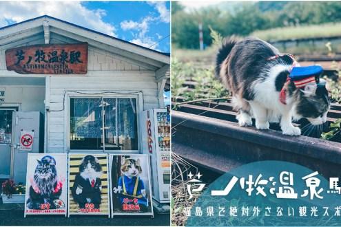 福島》蘆之牧温泉站超人氣猫站長LOVE醬 超難得能拍到貓站長寫真集連發