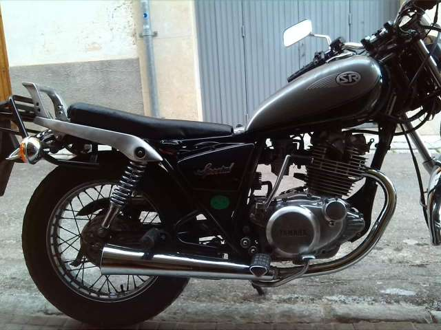 Sillin Cafe Racer Yamaha Sr250