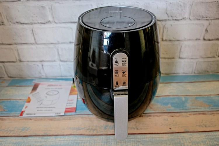3C開箱》淘好物。品夏PERSHOW氣炸鍋,美規版適合台灣電壓~平價好用外型美