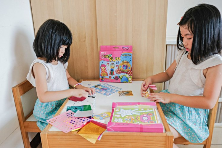 小學生Fun暑假不無聊。韓國AMOS手作系列,滿足孩子創意無限制~DIY原來這麼好玩